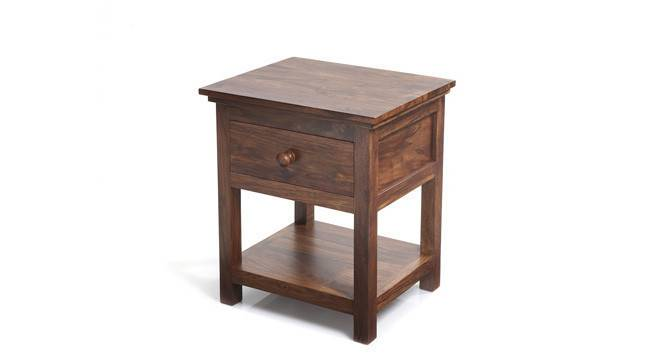 Snooze Bedside Table (Teak Finish) by Urban Ladder