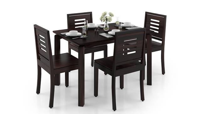 Catria - Capra 6 Seater Dining Table Set (Mahogany Finish) by Urban Ladder