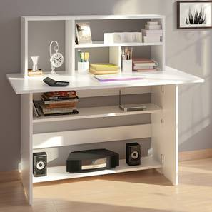 Anton Study Table White