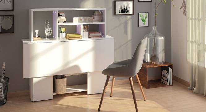Anton Study Table (White) by Urban Ladder