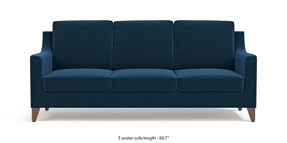 Bexley Sofa (Cobalt Blue) by Urban Ladder