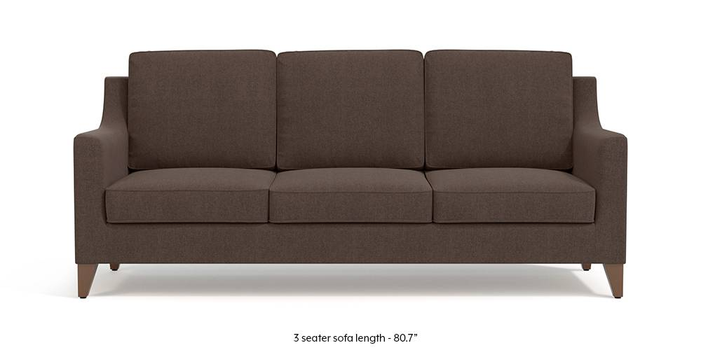 Bexley Sofa (Daschund Brown) by Urban Ladder