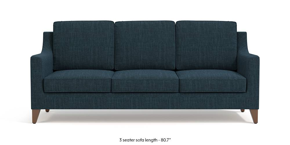 Abbey Sofa (Indigo Blue) by Urban Ladder
