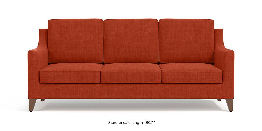 Abbey Sofa (Lava Rust) by Urban Ladder