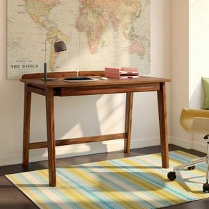 Larsson Study Table (Teak Finish) by Urban Ladder - Design 1 Full View - 201633