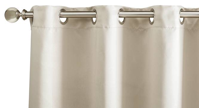 """Umbra Blackout Window Curtains - Set Of 2 (54"""" x 60"""" Curtain Size, Taupe Grey) by Urban Ladder"""