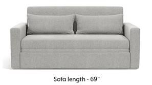 Camden Sofa Cum Bed (Vapour Grey)