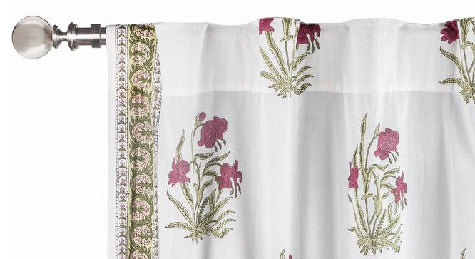 "Ayana Window Curtains - Set Of 2 (Multi Colour, 54"" x 60"" Curtain Size) by Urban Ladder"