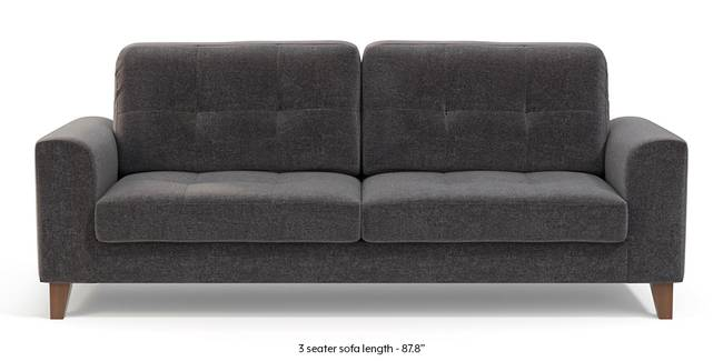 Verona Sofa (Smoke Grey) (1-seater Custom Set - Sofas, None Standard Set - Sofas, Smoke, Fabric Sofa Material, Regular Sofa Size, Regular Sofa Type)