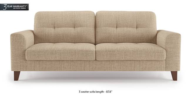 Verona Sofa (Sandshell Beige) (1-seater Custom Set - Sofas, None Standard Set - Sofas, Fabric Sofa Material, Regular Sofa Size, Regular Sofa Type, Sandshell Beige)