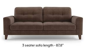 Verona Sofa (Daschund Brown)