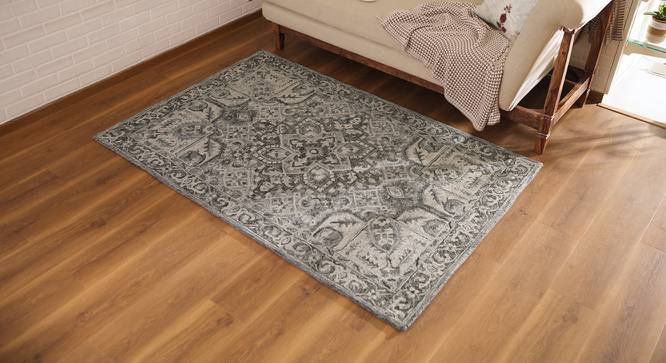 "Sanaz Hand Tufted Carpet (60"" x 96"" Carpet Size) by Urban Ladder"