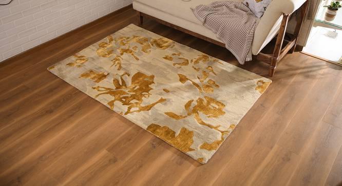 "Parisa Hand Tufted Carpet (48"" x 72"" Carpet Size) by Urban Ladder"