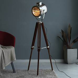 Columbia Floor Lamp (Brown Shade Color) by Urban Ladder