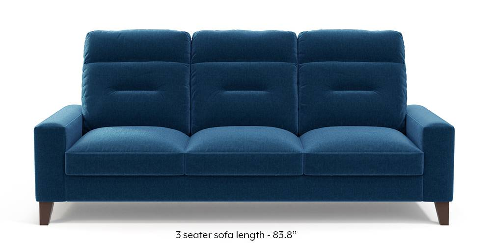 Siena Sofa (Cobalt Blue) by Urban Ladder
