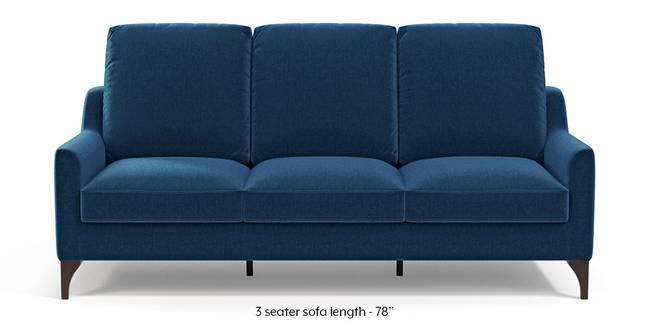 Norden Sofa (Cobalt Blue) (1-seater Custom Set - Sofas, None Standard Set - Sofas, Cobalt, Fabric Sofa Material, Regular Sofa Size, Regular Sofa Type)