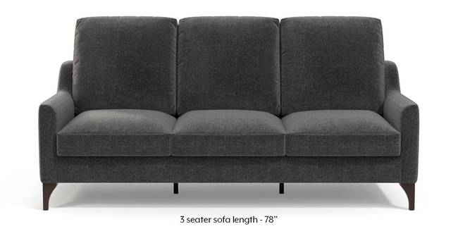 Norden Sofa (Smoke Grey) (1-seater Custom Set - Sofas, None Standard Set - Sofas, Smoke, Fabric Sofa Material, Regular Sofa Size, Regular Sofa Type)
