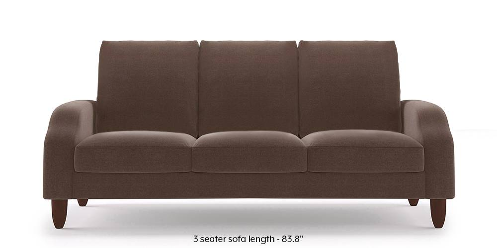 Devon Sofa (Daschund Brown) by Urban Ladder