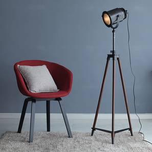Barbara Floor Lamp (Black Base Finish) by Urban Ladder - Design 1 Full View - 203820