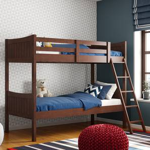 Corfu Bunk Bed (Dark Walnut Finish) by Urban Ladder