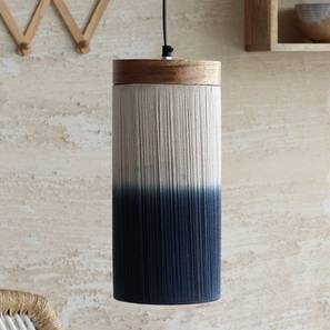 Upington Hanging Lamp (Natural Finish) by Urban Ladder
