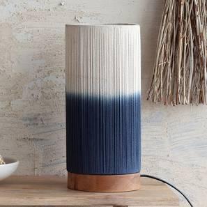 Upington Table Lamp (Natural Base Finish) by Urban Ladder