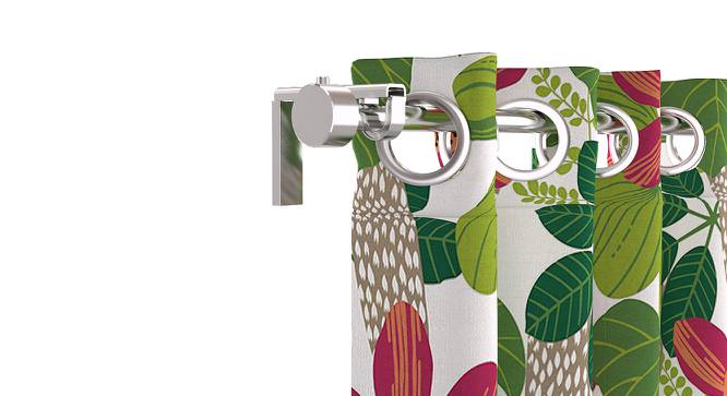 "Talisa Window Curtains - Set Of 2 (Talisa - In Bloom, 54"" x 60"" Curtain Size) by Urban Ladder"