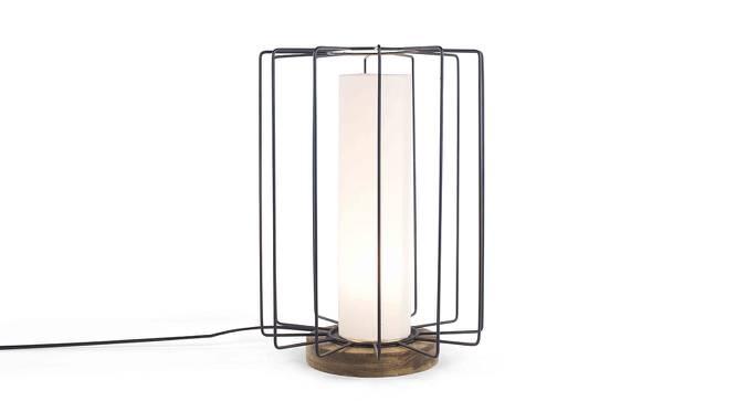 Halfa Table Lamp (Black Base Finish) by Urban Ladder