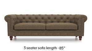 Winchester Fabric Sofa (Dune Brown)
