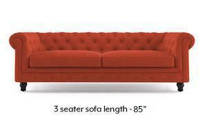 Winchester Fabric Sofa (Lava Rust)