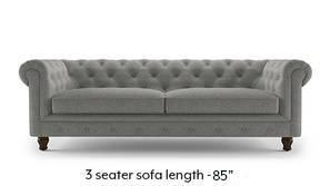 Winchester Fabric Sofa (Vapour Grey)