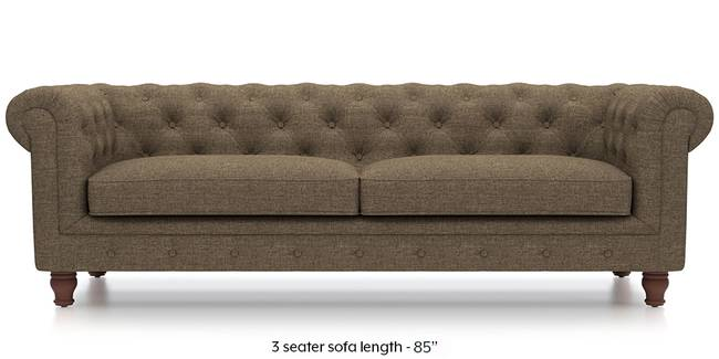 Winchester Fabric Sofa (Dune Brown) (Dune, Fabric Sofa Material, Regular Sofa Size, Regular Sofa Type)