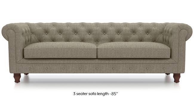 Winchester Fabric Sofa (Mist Brown) (Mist, Fabric Sofa Material, Regular Sofa Size, Regular Sofa Type)