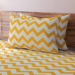 Chevron blue bedsheet lp