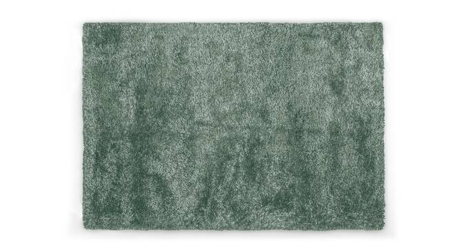 "Linton Shaggy Rug (60"" x 96"" Carpet Size, Mineral Blue) by Urban Ladder"