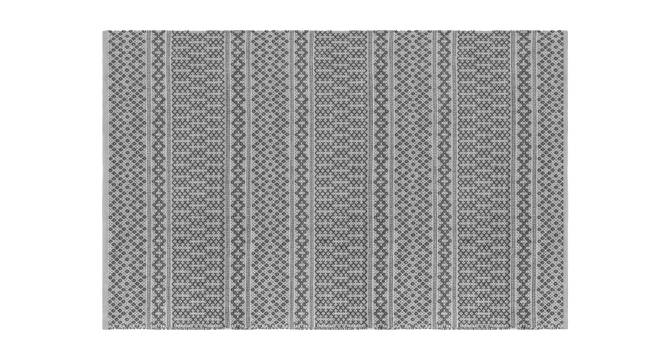 "Rivoli Dhurrie (Grey, 48"" x 72"" Carpet Size) by Urban Ladder"