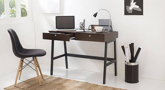 Terry Study Table (Wenge Finish) by Urban Ladder - Design 1 Full View - 210203