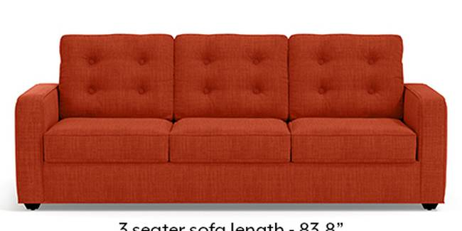 Apollo Sofa Set (Lava, Fabric Sofa Material, Regular Sofa Size, Soft Cushion Type, Regular Sofa Type, Master Sofa Component, Tufted Back Type, Regular Back Height)