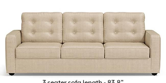 Apollo Sofa Set (Pearl, Fabric Sofa Material, Regular Sofa Size, Soft Cushion Type, Regular Sofa Type, Master Sofa Component, Tufted Back Type, Regular Back Height)