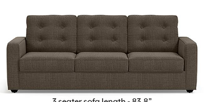 Apollo Sofa Set (Fabric Sofa Material, Regular Sofa Size, Soft Cushion Type, Regular Sofa Type, Master Sofa Component, Pine Brown, Tufted Back Type, Regular Back Height)