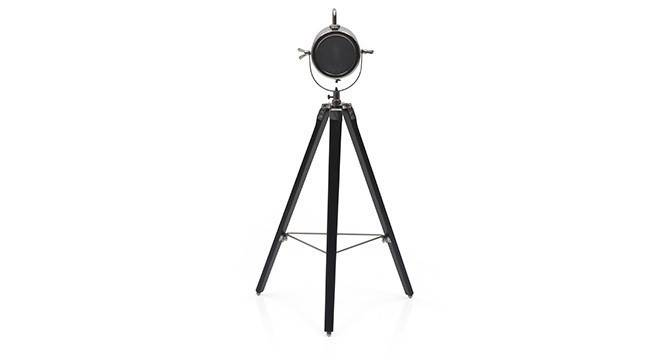 Belfast Tripod Spotlight (Black Base Finish, Cylindrical Shade Shape, Nickel Shade Color) by Urban Ladder - - 21218