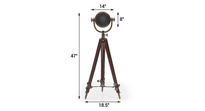 Endeavour tripod floor lamp antiquebrass 10 img 0365 dm