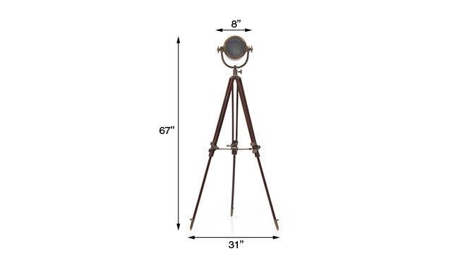 Endeavour tripod floor lamp antiquebrass 11 img 0368 dm