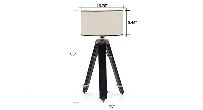 Hubble tripod floor lamp cotton white drum shade 08 img 0731 dm