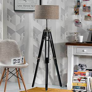 Hubble tripod floor lamp natural linen drum shade 00 img 0660