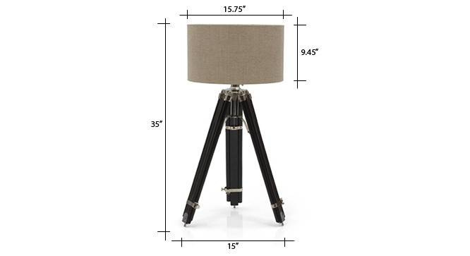 Hubble tripod floor lamp natural linen drum shade 07 img 0662 dm