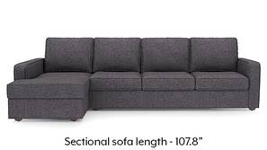 Apollo Sectional Sofa (Steel)