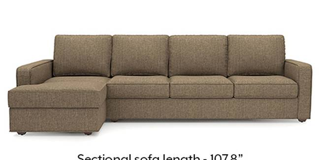 Apollo Sofa Set (Dune, Fabric Sofa Material, Regular Sofa Size, Soft Cushion Type, Sectional Sofa Type, Sectional Master Sofa Component, Regular Back Type, Regular Back Height)