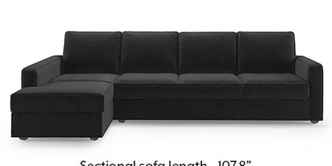 Apollo Sofa Set (Fabric Sofa Material, Regular Sofa Size, Soft Cushion Type, Sectional Sofa Type, Sectional Master Sofa Component, Pebble Grey, Regular Back Type, Regular Back Height)