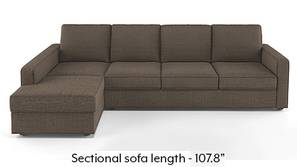 Apollo Sectional Sofa (Pine Brown)